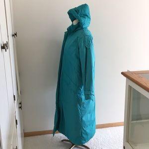 fb879be10 Amazing floor length Teal Down winter coat